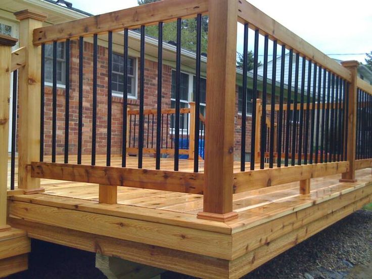 Lowe S Instant Deck : Metal deck balusters lowes design and ideas
