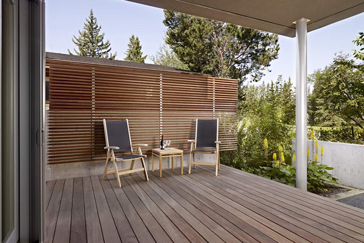 modern deck pictures