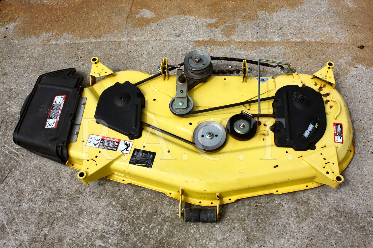 John Deere L120 Mower Deck Belt Installation : Mower deck installation john deere design and ideas