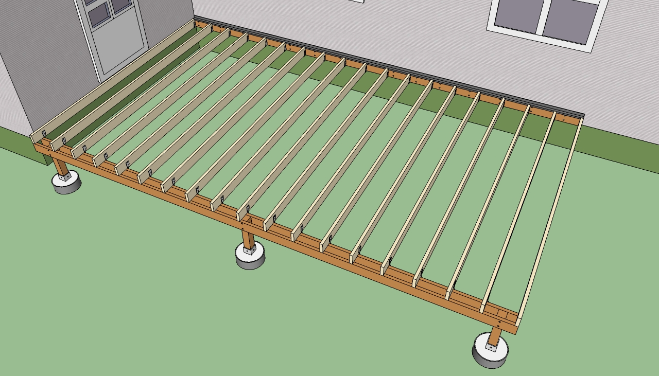 Ontario Building Code Deck Joist Span Deck Design And Ideas