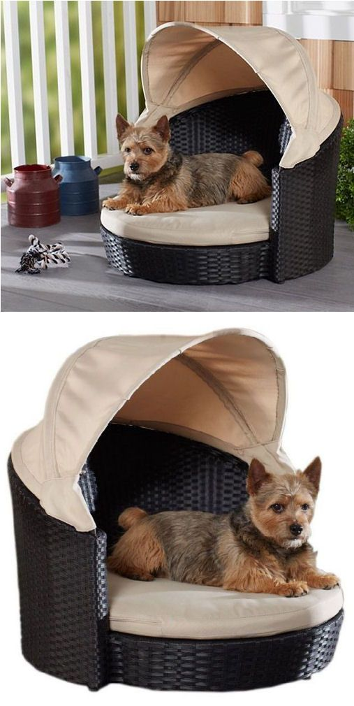Outdoor Canopy Dog Bed