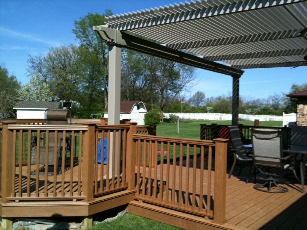 Outdoor deck cover ideas deck design and ideas for T g roof decking