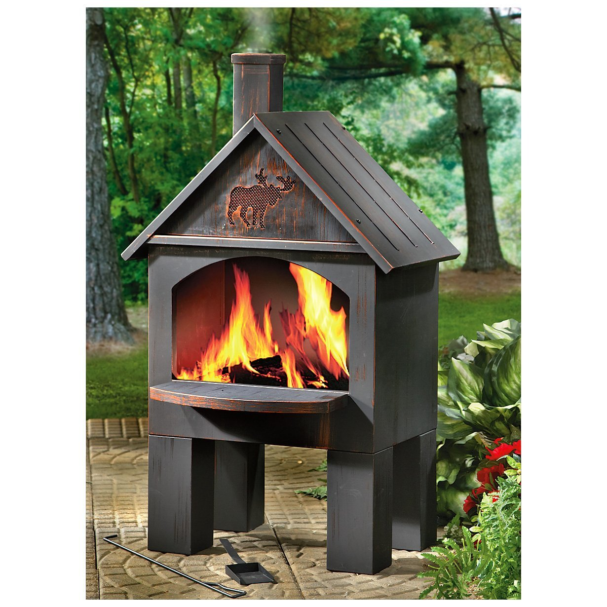 outdoor fireplace ebay deck design and ideas