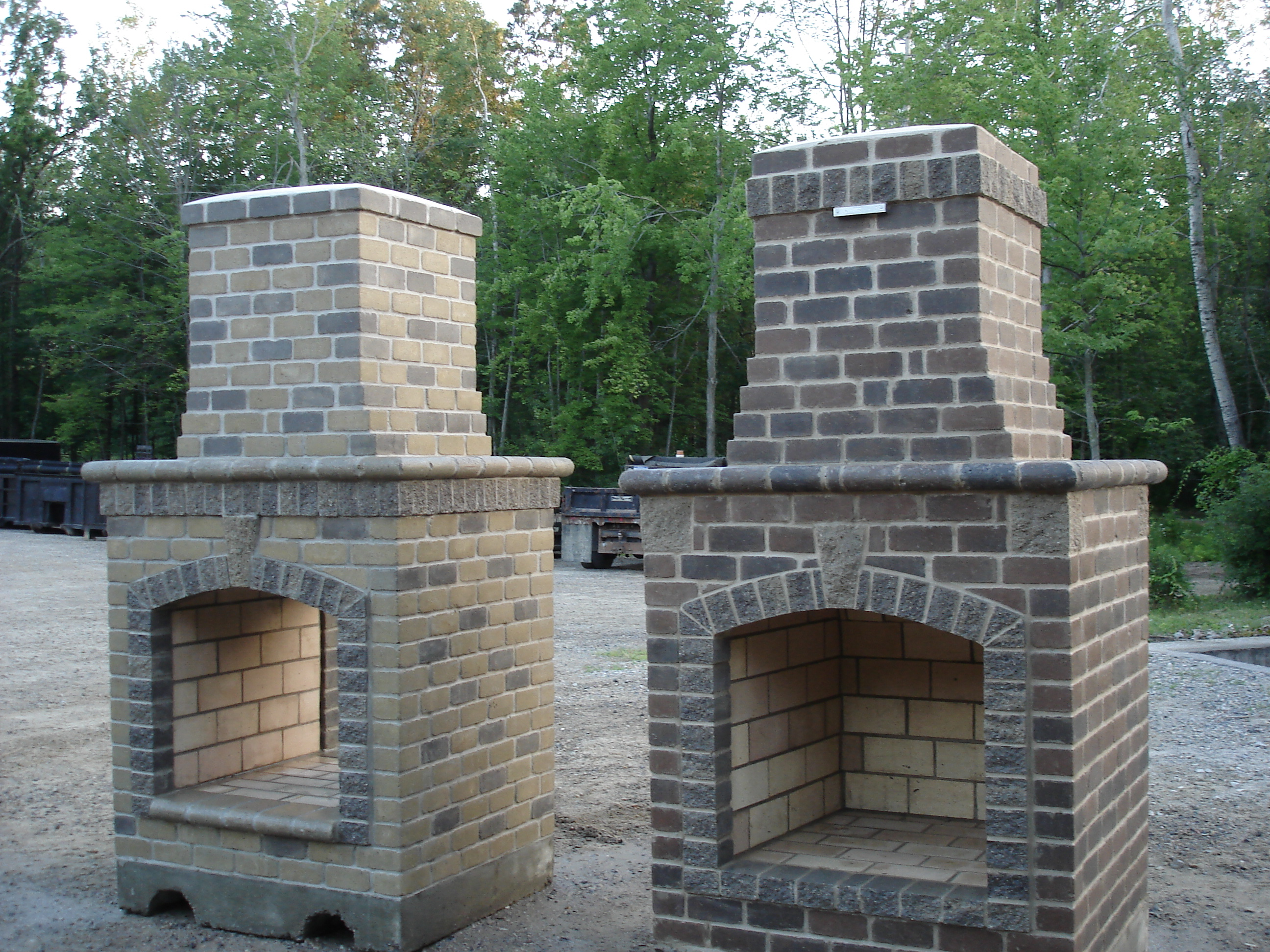 outdoors fireplace kits. Outside electric fireplace pictures kits uk  Deck design and Ideas