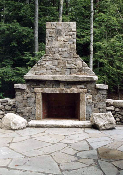 outside stone fireplace. outside stone fireplace pictures Outside  Deck design and Ideas