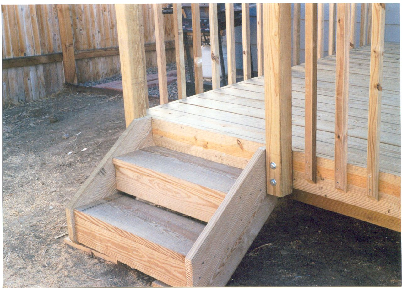 pictures of deck steps deck design and ideas