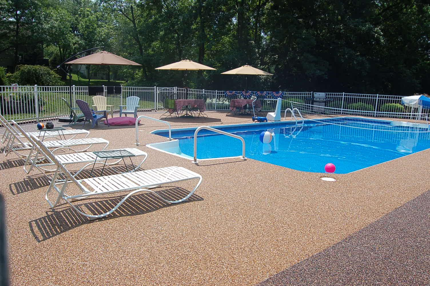 pool deck resurfacing ideas | pool design and pool ideas