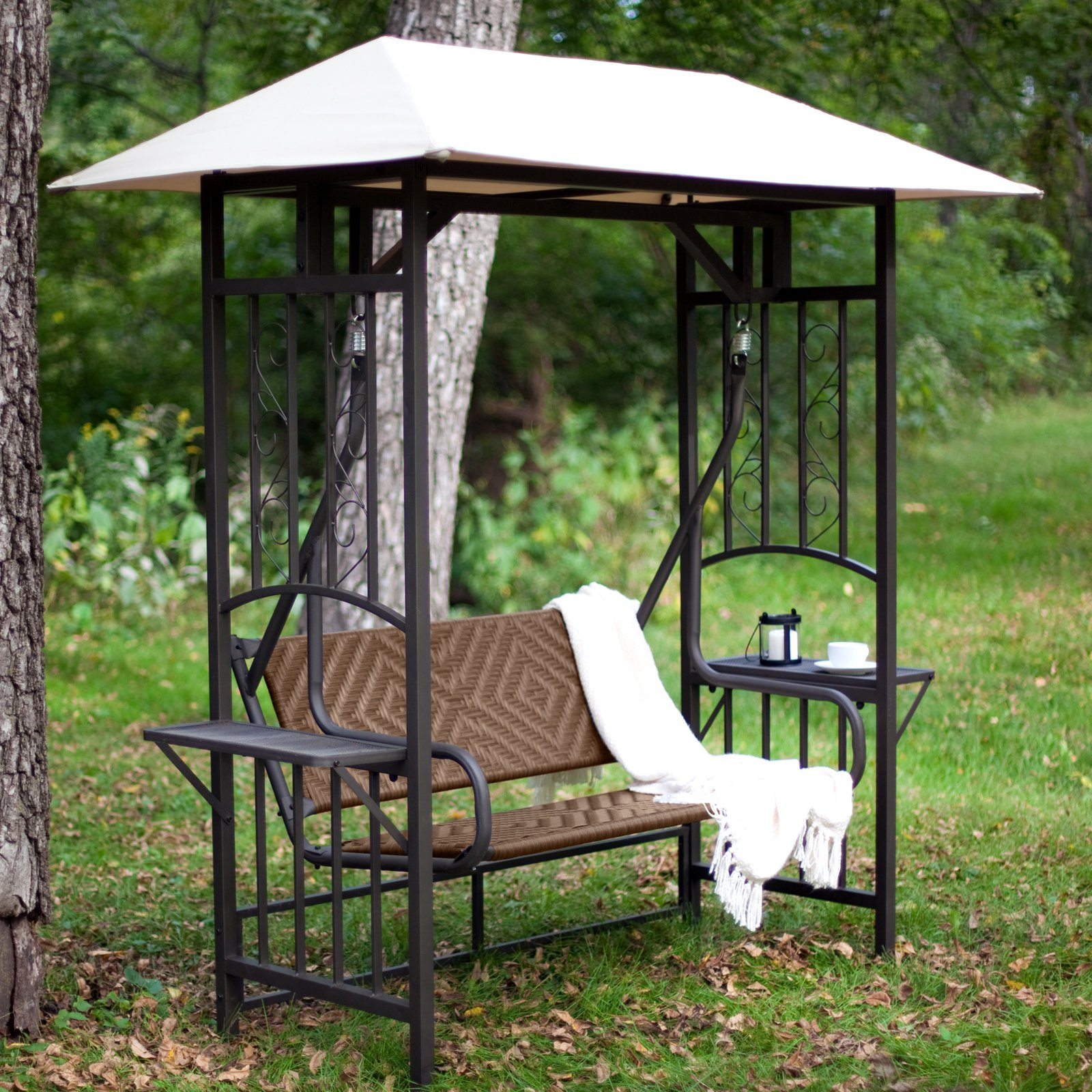 porch swing gazebo