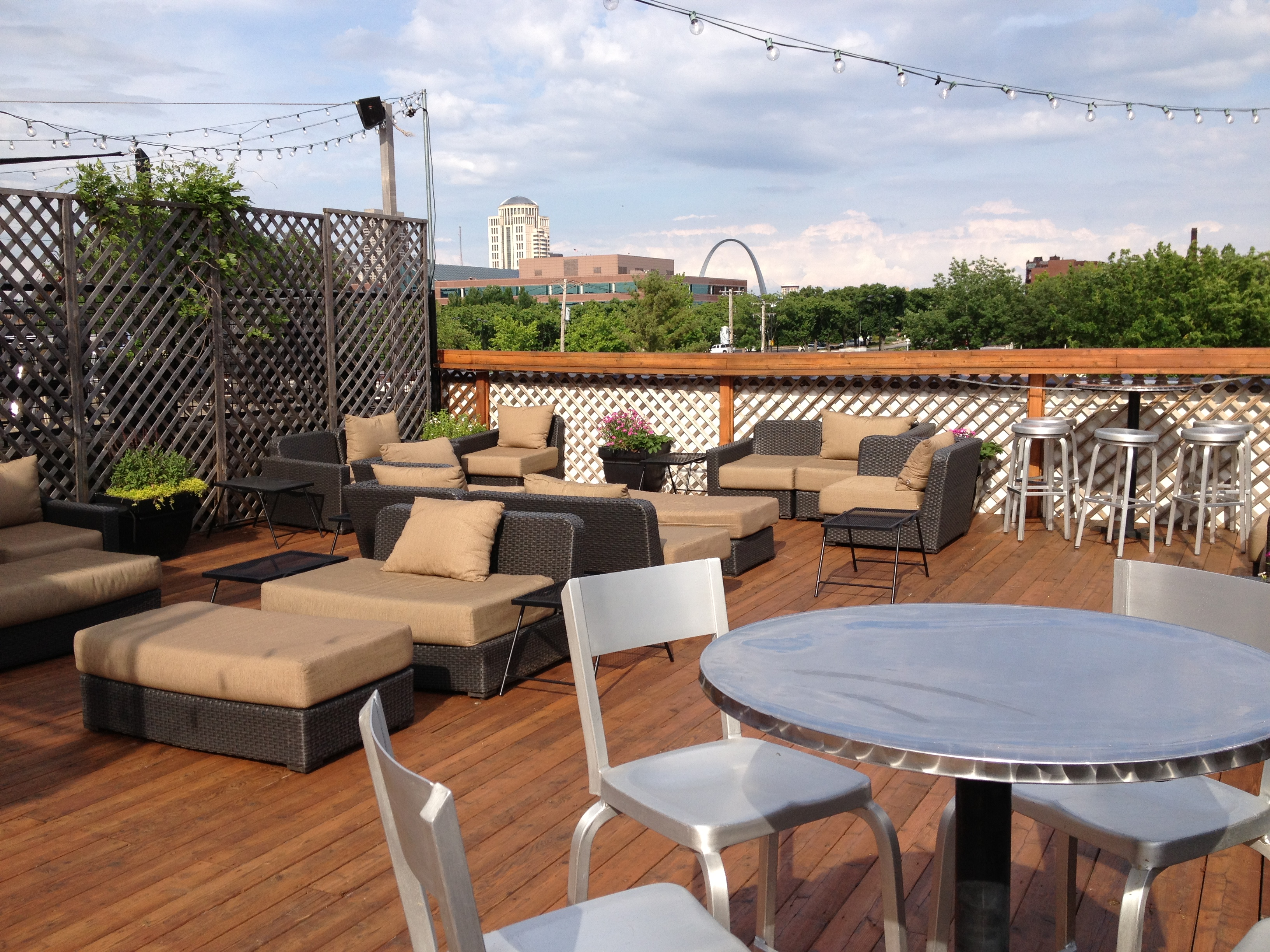 Rooftop deck deck design and ideas for Roof deck design