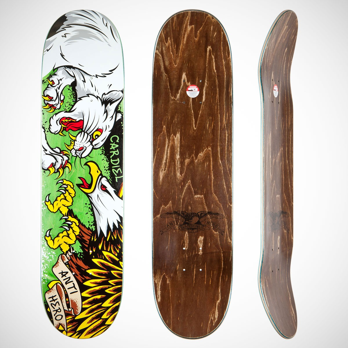 tooth and nail deck