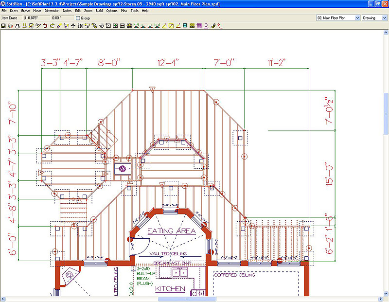 Wood deck design software
