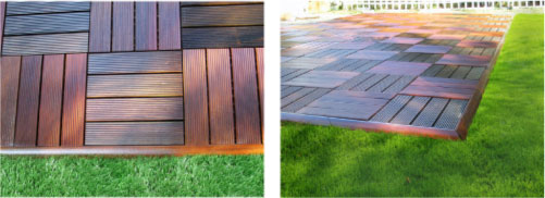 wood deck edging