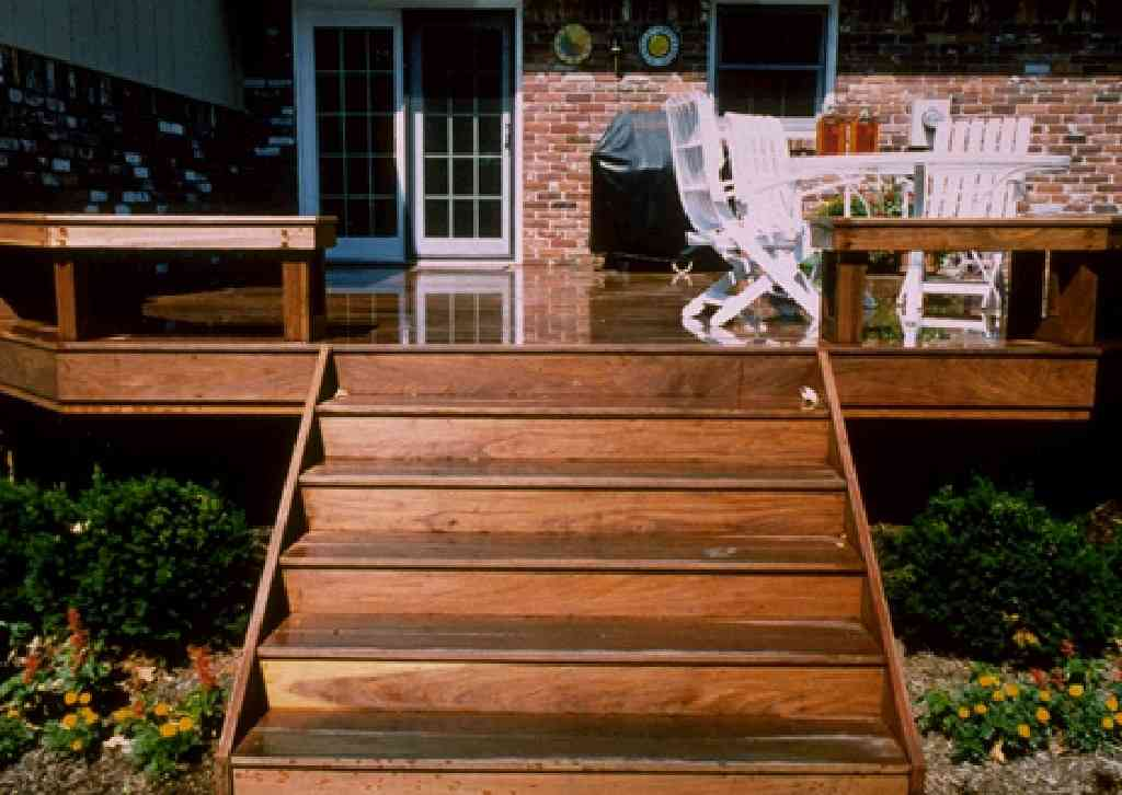 wood deck estimated cost