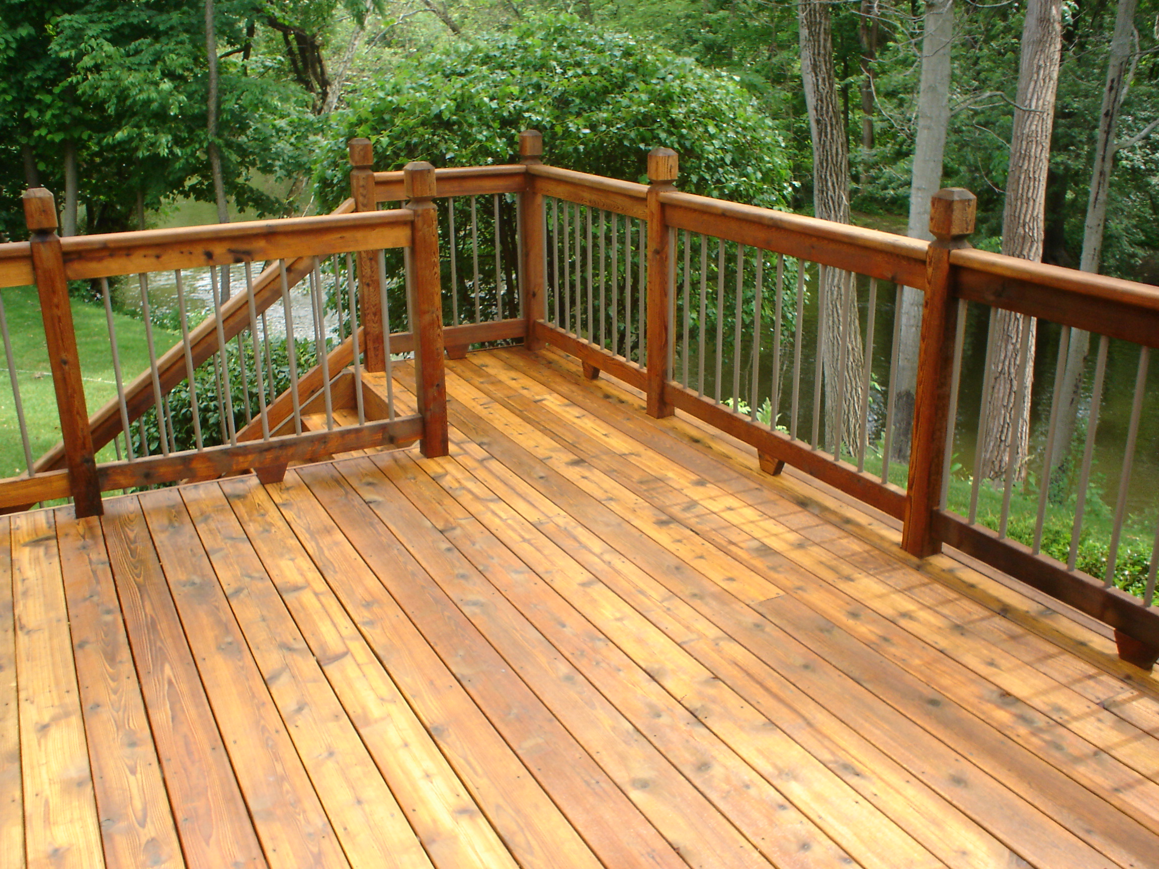 wood deck wash recipe