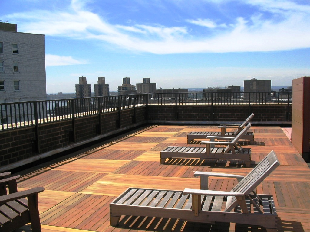 Wood Deck With Roof Deck Design And Ideas