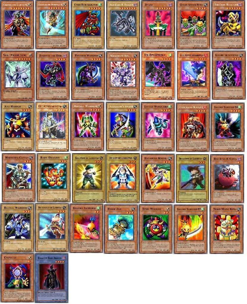 Yugioh joey deck | Deck design and Ideas